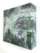 017_Biotop_2_Collage_Uebermalung_Wachs_auf_Holz_30x30x9cm